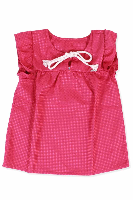 Camisa infantil tricoline