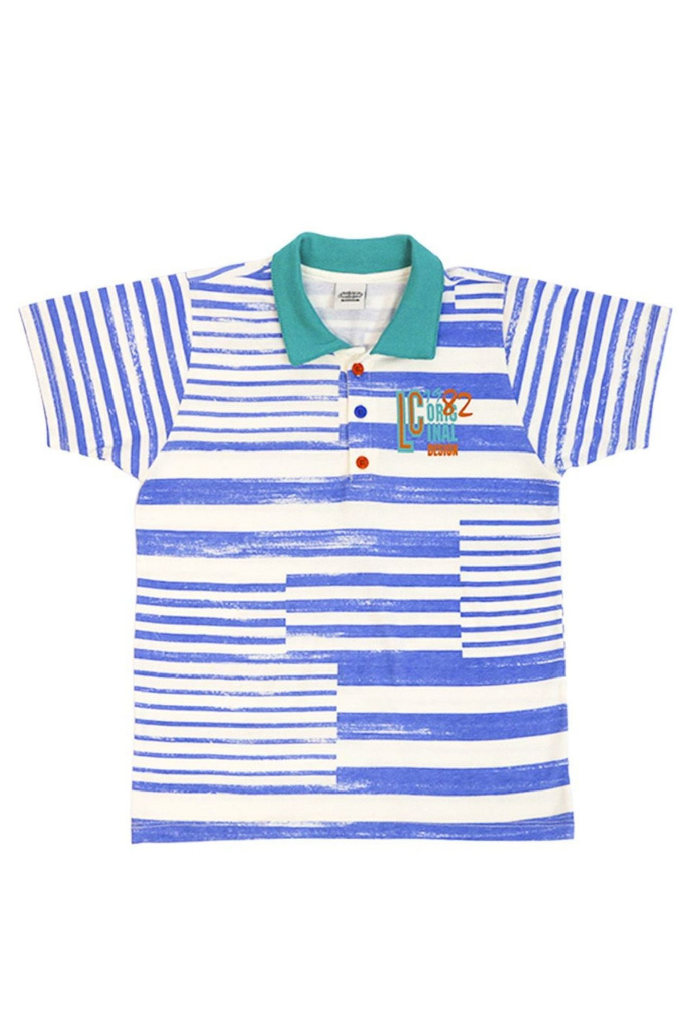 Camisa Polo Infantil Listrado