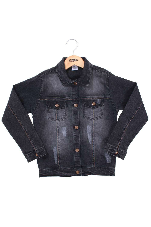 Jaqueta Infantil Jeans Black