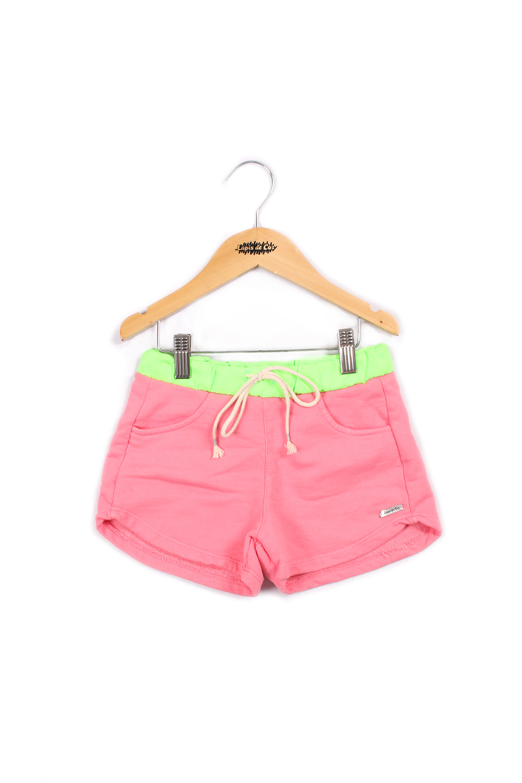 Short infantil neon bicolor