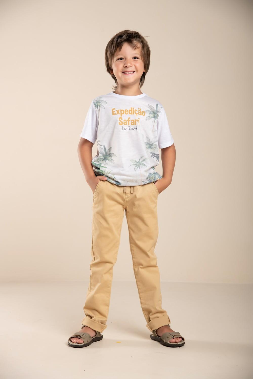 T-shirt infantil Safari