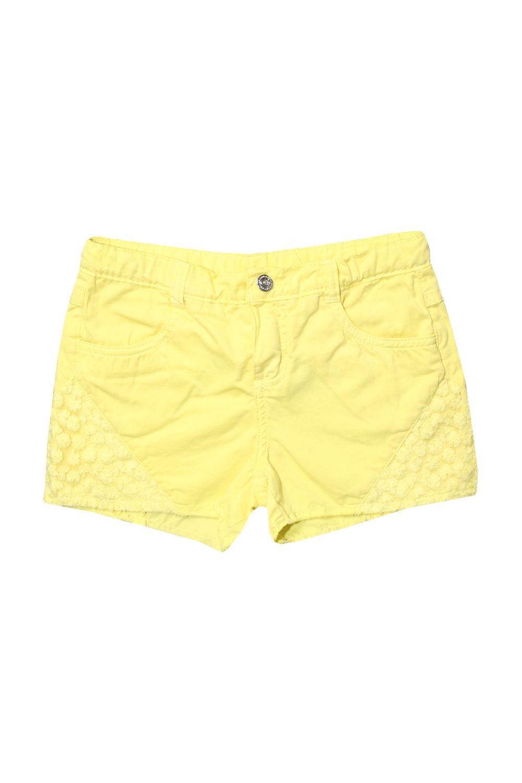 Short Amarelo com Renda