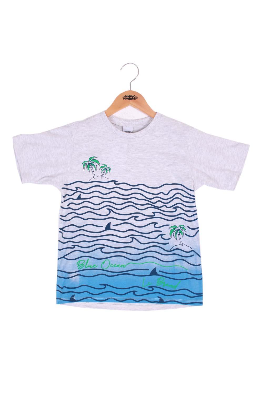 T-shirt com silk degradê