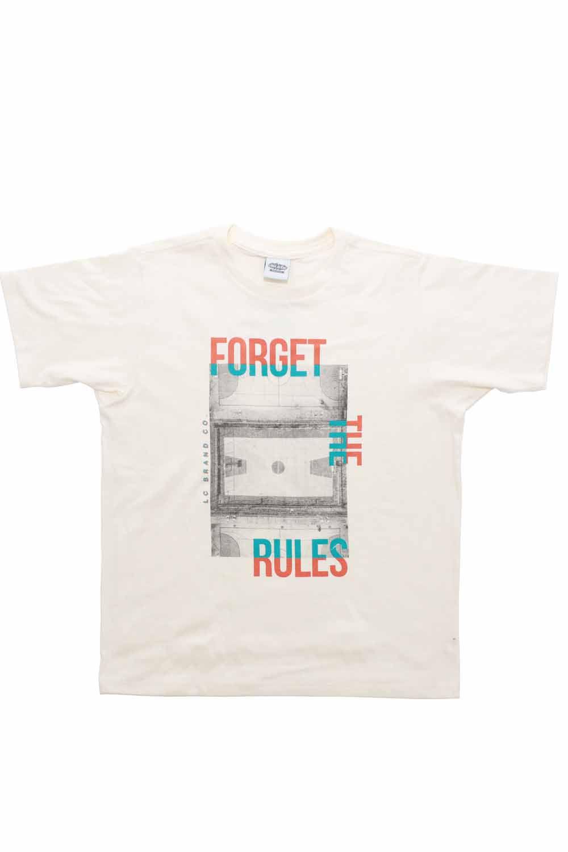 T-shirt com silk na frente