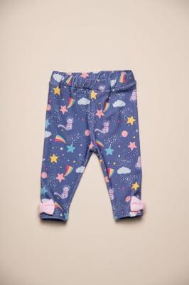 Calça legging bebê estampa exclusiva