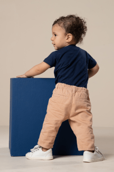 Calça bebê social color