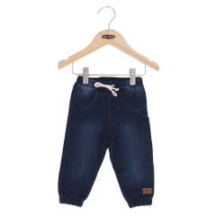 Calça bebê jeans jogging