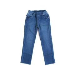 Calça infantil jeans com elástico
