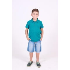 Camisa Polo Infantil Color