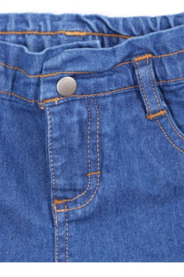 Calça infantil jeans clochard