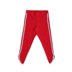 Calça legging com barra assimétrica