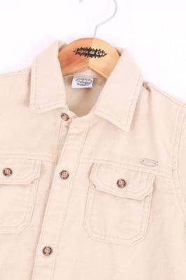 Camisa infantil manga longa flanelada