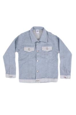 Jaqueta infantil jeans ecológica