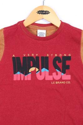 T-shirt infantil duo com estampa