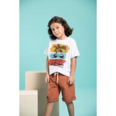 T-shirt infantil com estampa
