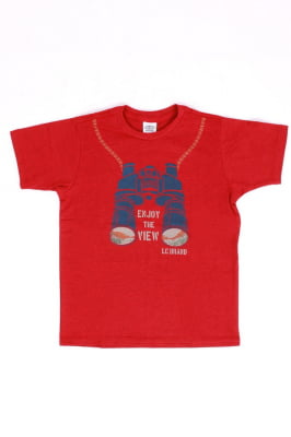 T-shirt infantil com estampa de binóculo
